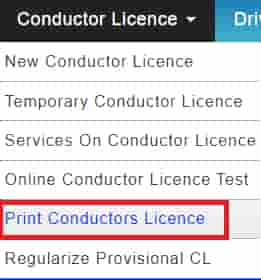Print conductor Licence